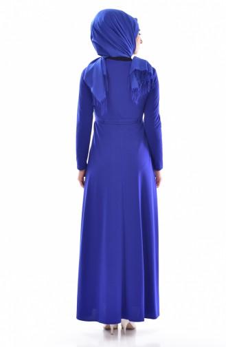 Saxon blue İslamitische Jurk 1082-05