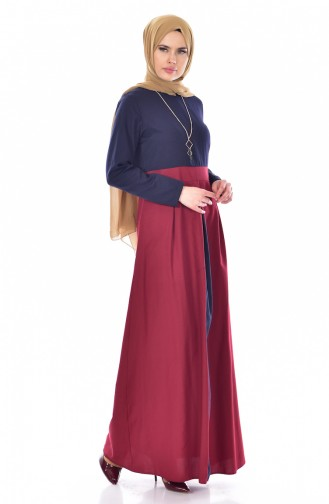 Navy Blue Dress 2265-02
