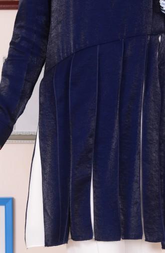 Tunique Garnie 2022-01 Bleu Marine 2022-01