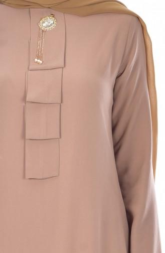 Tunik Pantolon İkili Takım 9005-08 Vizon 9005-08