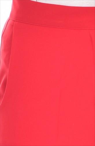 Pantalon Large 1007-10 Rouge 1007-10