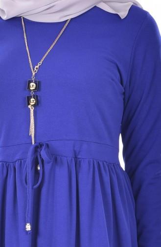 Kleid mit Halskette   1081-05 Saks 1081-05