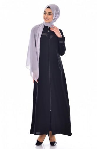 Black Abaya 0523-01