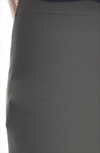 Jupe Crayon 2002-02 Khaki 2002-02