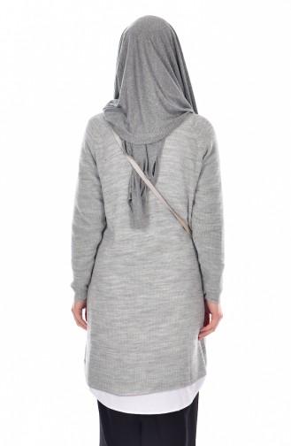 ملابس مُحاكة رمادي فاتح 2022-08