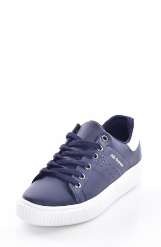 Navy Blue Sport Shoes 0778-09