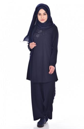 Navy Blue Suit 18109-07