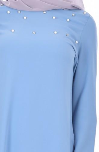 Tunique Coupe Laser 50130-03 Bleu 50130-03