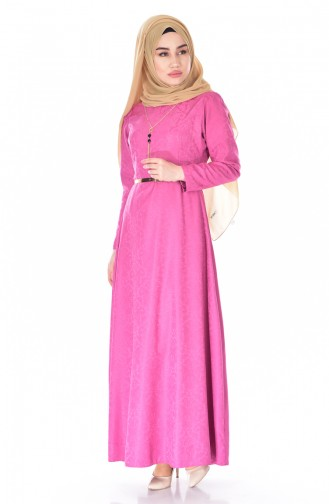 W. B Belted Dress 3951-12 Dried Rose 3951-12