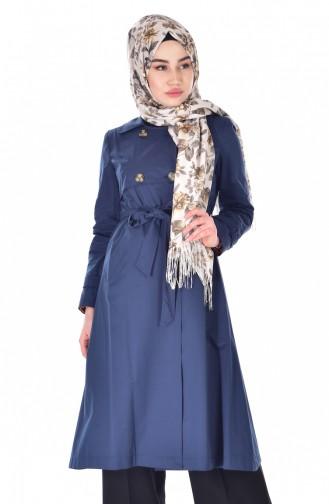 Indigo Trench Coats Models 6779-03