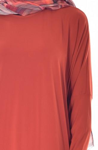 Abaya Coupe étroite 1780-12 Brique 1780-12