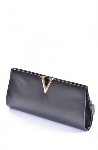 Black Portfolio Hand Bag 0410-08