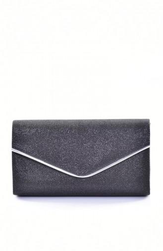 Black Portfolio Hand Bag 0458-05