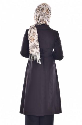 Black Trench Coats Models 6779-02