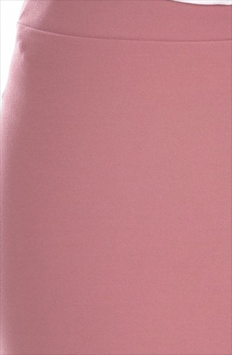 Bleistiftsrock mit Volant 2000-04 Rosa 2000-04