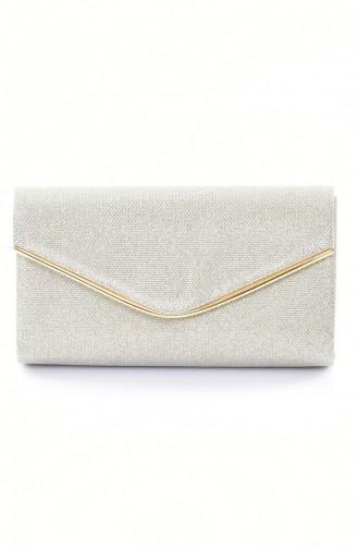حقيبة يد لون ذهبي 0458-02