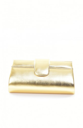 Gold Colour Portfolio Hand Bag 0494-06