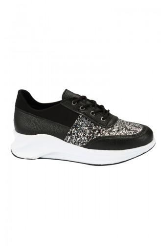 Black Sport Shoes 4010-01