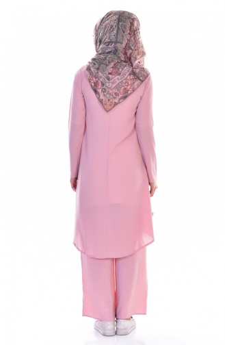 Tunic Trousers Double Suit 18831-04 Dried Rose 18831-04