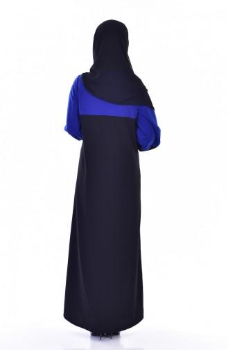 Black Abaya 3305-02