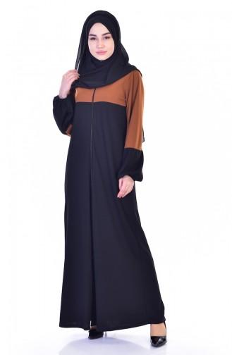 Black Abaya 3305-03