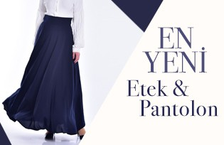 En Yeni Etek Pantolon Modelleri