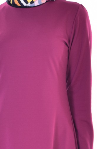 Robe Froufrous 3304-02 Plum 3304-02
