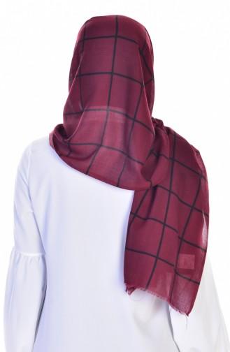 Claret red Sjaal 18
