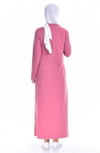 Dusty Rose İslamitische Jurk 8098-06