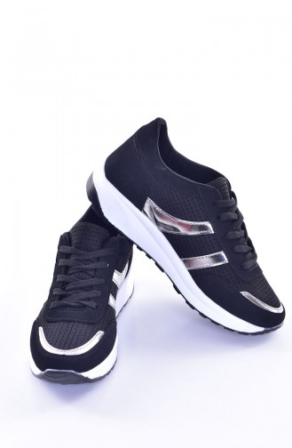 Black Sport Shoes 0765-02