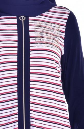 Navy Blue Vest 1611660-01