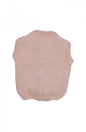 Beige Baby Vest 23015BEJ-01