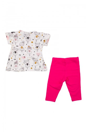 Fuchsia Baby & Kid Suit 10900-02