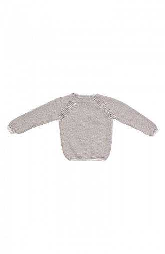 Pull Tricot MIO21013-01 Gris 21013-01