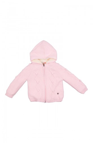 Pink Cardigan for Kids and Babies 21010PMB-01