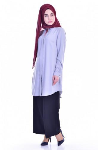 Gray Overhemdblouse 1821859-02