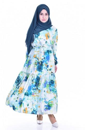 فستان بتصممي مطبع  9012-01