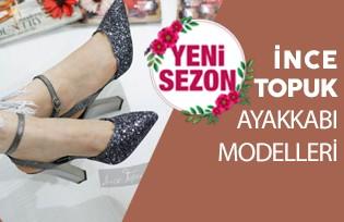 Yeni Sezon İnce Topuk Ayakkabı Modelleri