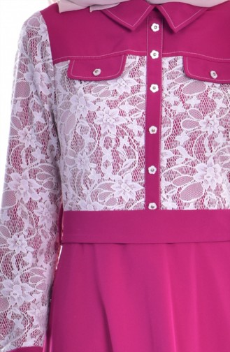 Fuchsia Dress 1613109-03
