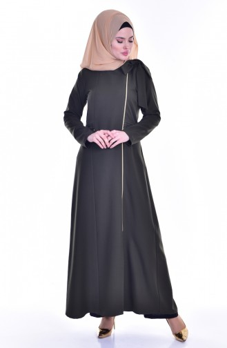 Hijab Abaya 2124-07 Khaki 2124-07