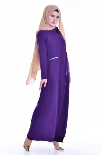 Purple Abaya 2124-06