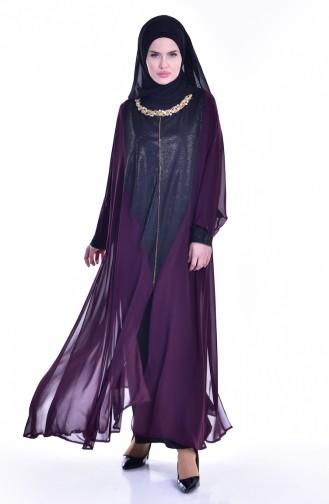 فستان بتصميم شيفون مطبع  1613948-03