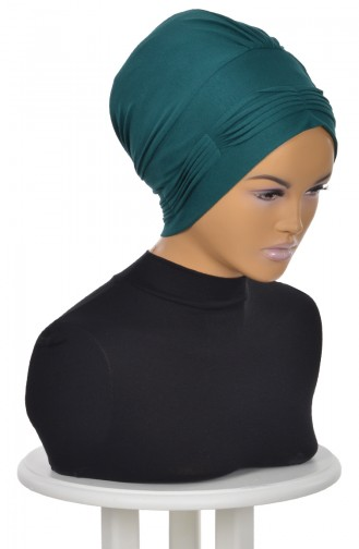 Dark Green Ready to wear Turban 0019-14