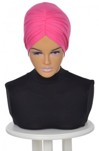 Fuchsia Ready to wear Turban 0020-10