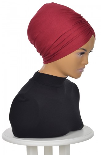 Claret red Ready to wear Turban 0020-3