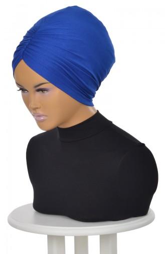 Saxon blue Ready to wear Turban 0020-4