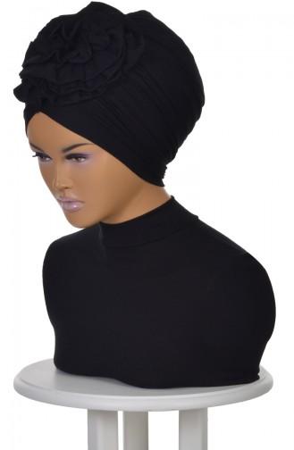 Black Ready to wear Turban 0021-6
