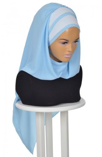 Baby Blues Ready to wear Turban 0083-27-24