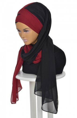 Black Ready to wear Turban 0084-14-7