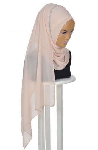 Beige Ready to wear Turban 0022-5